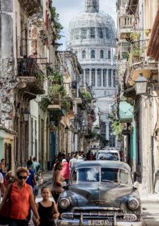 Capitolio building, Vieja, Havana Cuba