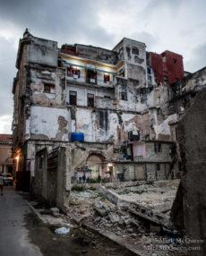 Devastation in Havana Cuba