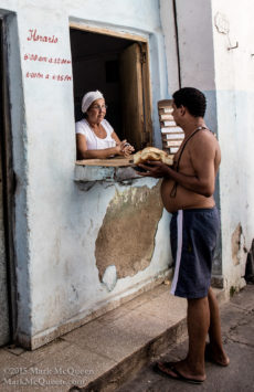 bakery in Havana Cuba
