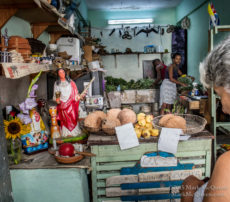 Street shop in Havana Cuba